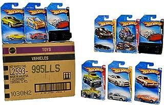 Hot Wheel Collector U.S. Basic Car 72 Pack Assortment - Mix 995L