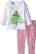 Mud Pie Baby-Girls Newborn Ribbon Tree Tunic and Legging