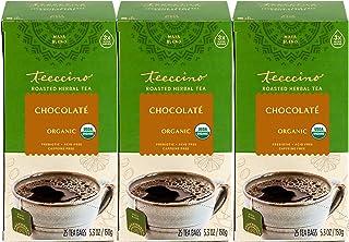 Sponsored Ad - Teeccino Herbal Tea – Chocolaté – Rich & Roasted Herbal Tea That's Caffeine Free & Prebiotic for Natural En...