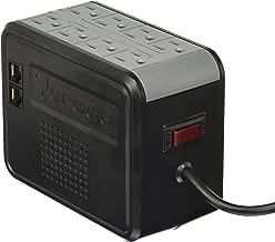Vorago AVR-100 Regulador Negro, Hogar, 1000 VA, Color Pack of/Paquete de 1