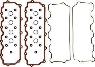 APDTY 112565 Valve Cover Gasket Complete Upper & Lower Kit Includes Grommet & Breather Seals Fits 6.0L Ford Power Stroke Diesel F250 F350 F450 F550 Super Duty E350 E450 Econoline E Van Excursion