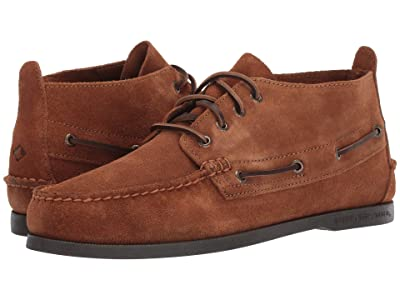 Sperry A/O Chukka Suede (Dark Tan) Men
