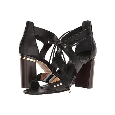 M4D3 Brazillian (Black Baby Calf) High Heels