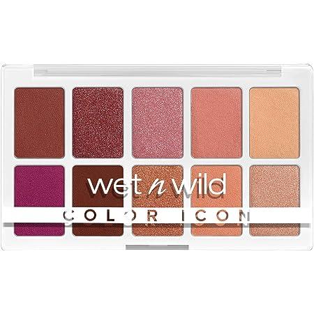 Wet n Wild Color Icon 10Pan Makeup Palette LongWear Vegan, Heart & Sol, 0.42 Ounce