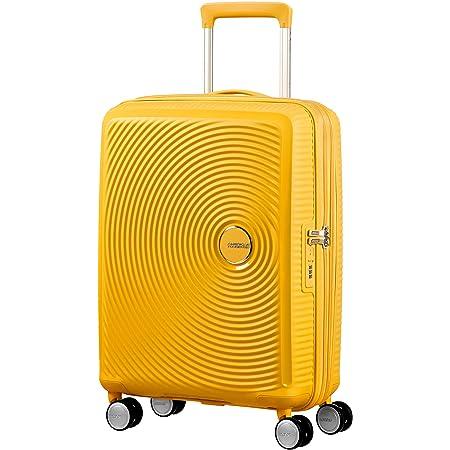 American Tourister Soundbox Spinner Hand Luggage, 55 cm, 41 L, Jaune (Golden Yellow)