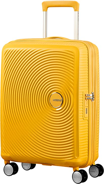 Trolley spinner s (55 cm - 41 l), giallo (golden yellow) american tourister soundbox 88472/1371