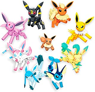 Mega GFV85 Construx Pokemon Every Eevee Evolution! Pack 470