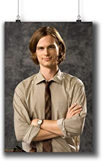 Criminal Minds TV Series Poster Small Prints 271-020 Spencer Reid,Wall Art Decor for Dorm Bedroom Living Room (A4|8x12inch|21x29cm)