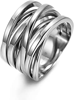 Best stainless steel gold plated rings Reviews