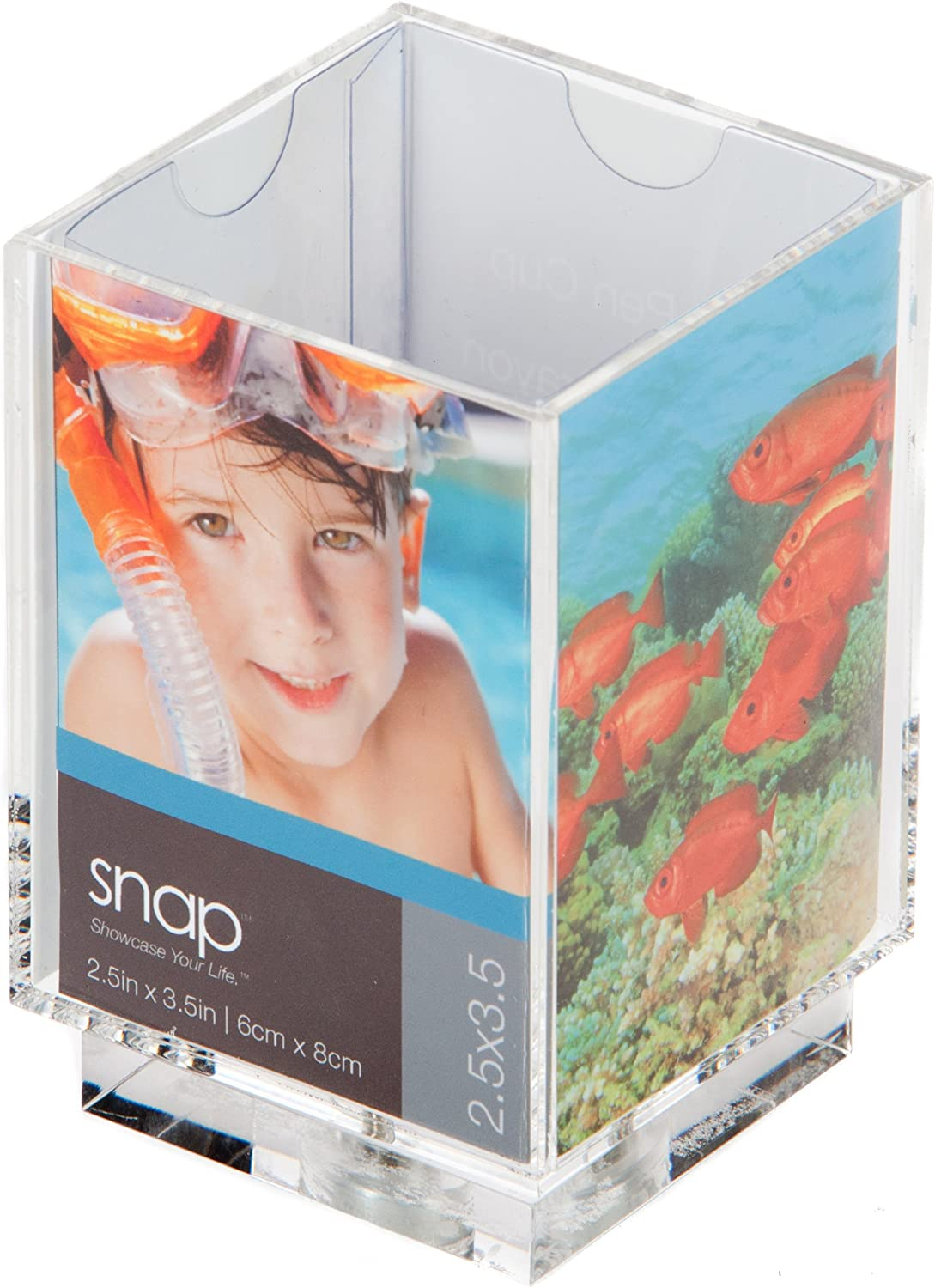 Snap Swivel Photo Pencil Holder 2-1 Sales results No. 1 3-1 High quality new 2-Inch by