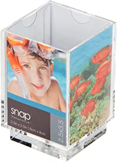 Snap Swivel Photo Pencil Holder, 2-1/2-Inch by 3-1/2-Inch
