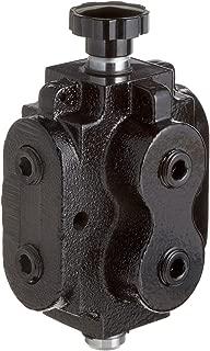 2 position 6 way selector valve