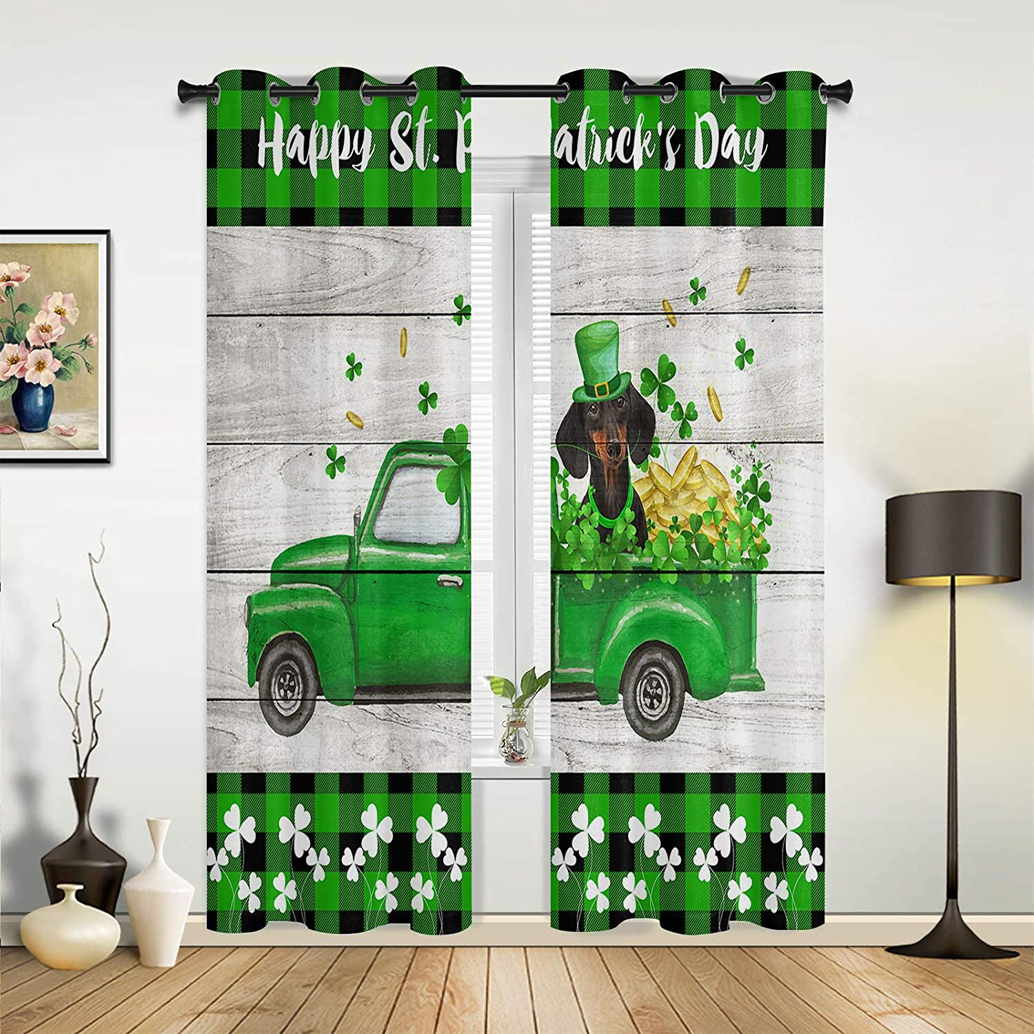 Beauty Decor Window cheap Sheer Curtains for Bedroom Room Happy Living Max 80% OFF