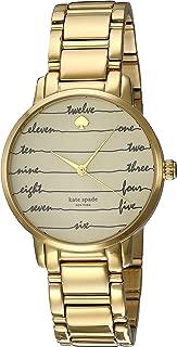 kate spade new york Women's Goldtone Gramercy Chalkboard Watch