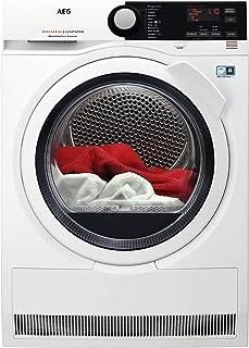 AEG ProTex Optisense ABSOLUTECARE, Condensation avec pompe à chaleur, 8 kg, blanc