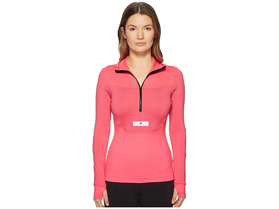 adidas by Stella McCartney Run Hooded Long Sleeve CG0136 (Solar Pink) Women