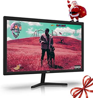 Thinlerain PC Monitor 19 Inch, 1366×768 HD Monitor, 60 Hz Refresh Rate, 5Ms Response Time, VESA Mountable, Game Monitor wi...