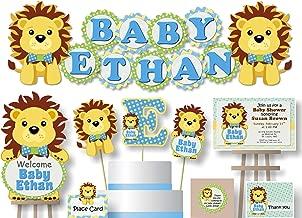 lion king baby shower diaper cake