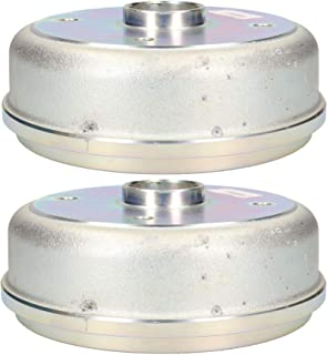 AB Tools-Indespension Trailer Brake Drum for Knott 203x40 Brake Shoes 139.7mm PCD 4 Stud M12 2pk