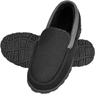 شباشب festooning للرجال، نعال رجالية بدون كعب مع رغوة الذاكرة المضادة للانزلاق على المنزل أحذية داخلية وخارجية