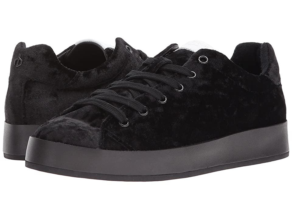 rag & bone RB1 Low (Black Velvet) Women