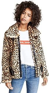 Blank Denim Women's Leopard Print Jacket