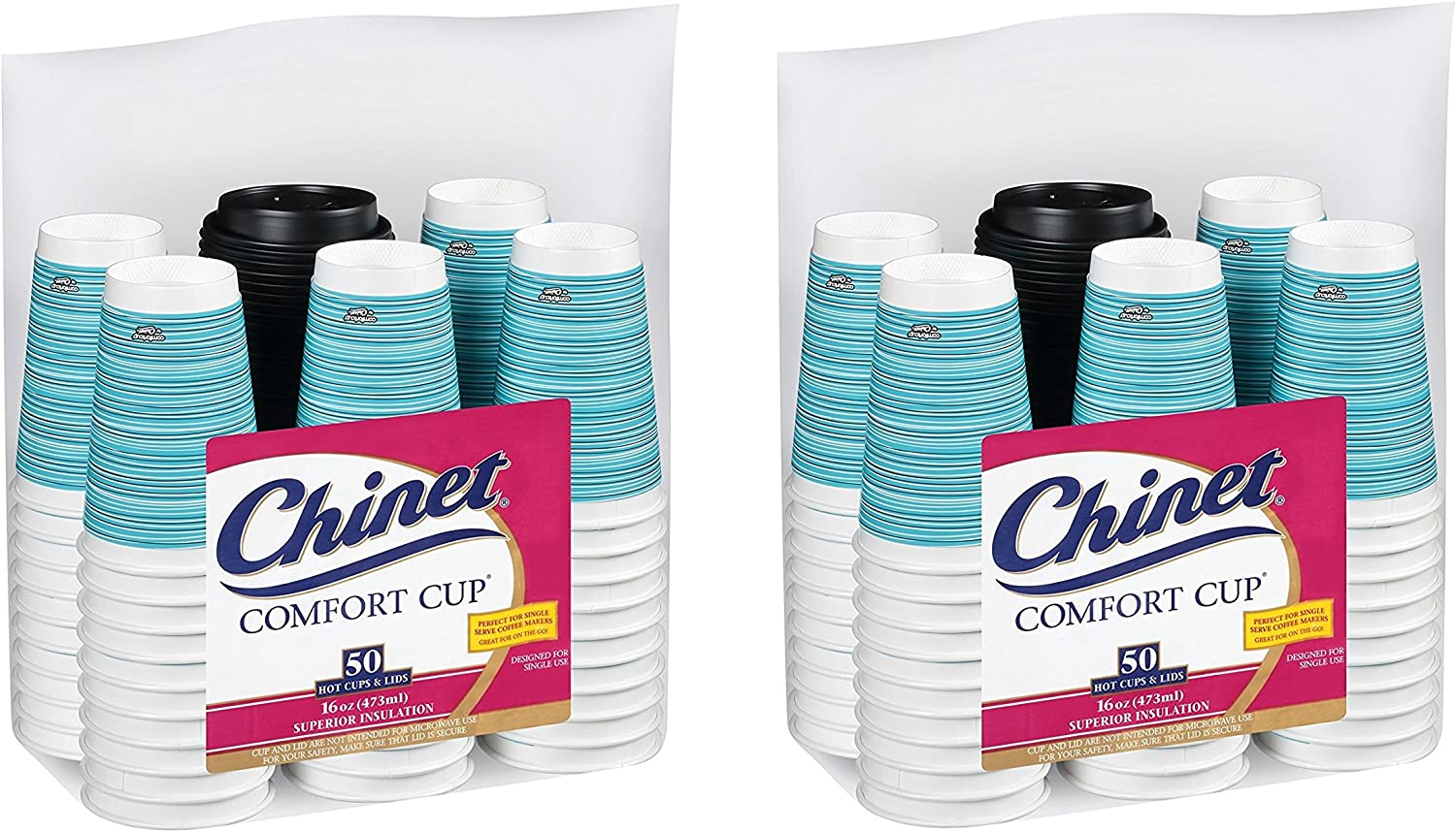 Chinet Comfort Cup 16-Ounce Price Recommended reduction Cups 50-Count Lids Assorted