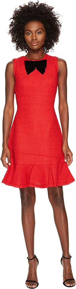 Kate Spade New York - Ruffle Tweed Dress