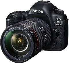 Canon EOS 5D Mark IV Full Frame Digital SLR Camera with EF 24-105mm f/4L is II USM Lens Kit (Renewed)
