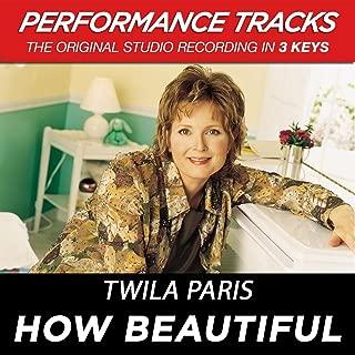 How Beautiful (Performance Tracks)