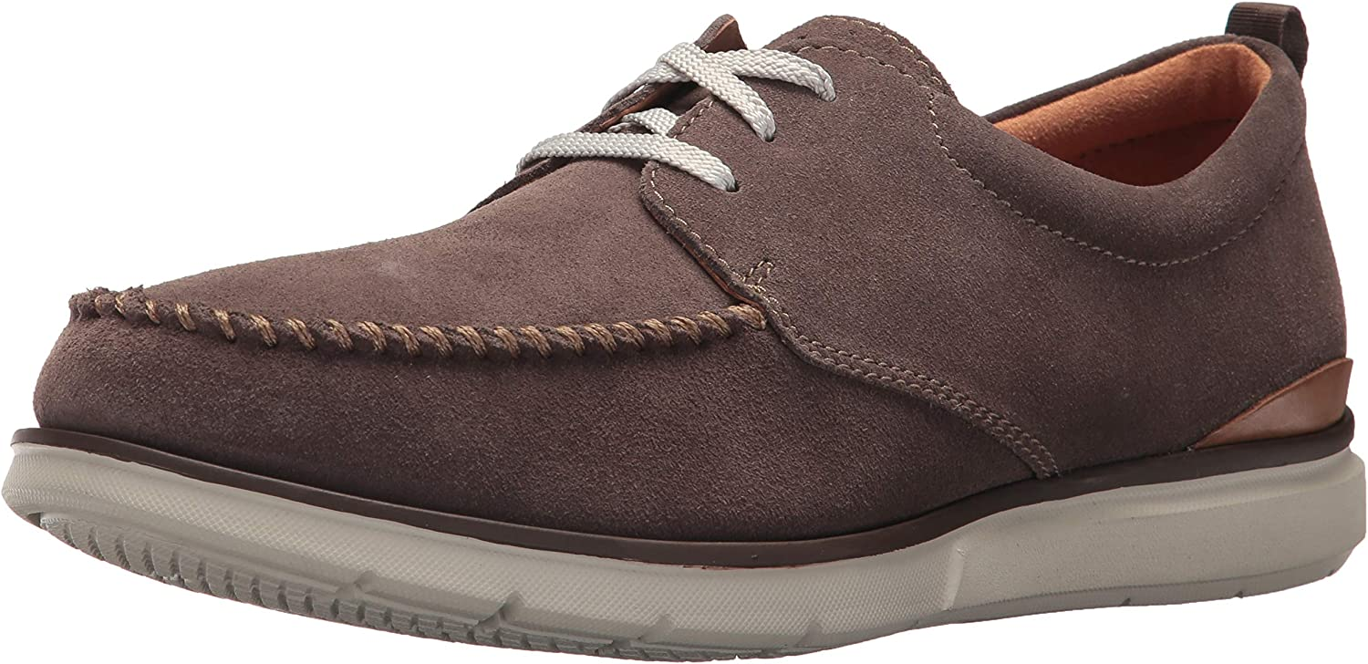 Clarks Edgewood Mix Mens Oxfords Taupe Suede 13