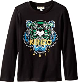 276dfb4e27 Kenzo kids tee shirt tigers toddler little kids | Shipped Free at Zappos