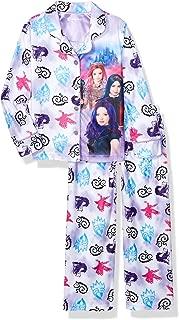 Girls' 2-Piece Button Front Pajama Set