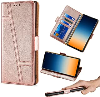 GKLTCK Flip ケース Case for Huawei Nova 7 Se Huoliban ケース Case Cover [Rose gold]