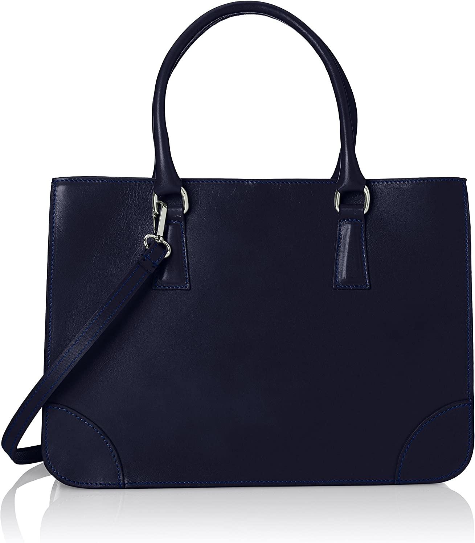 CTM Tasche Elegante Frau Italian Style, echtes Leder 100