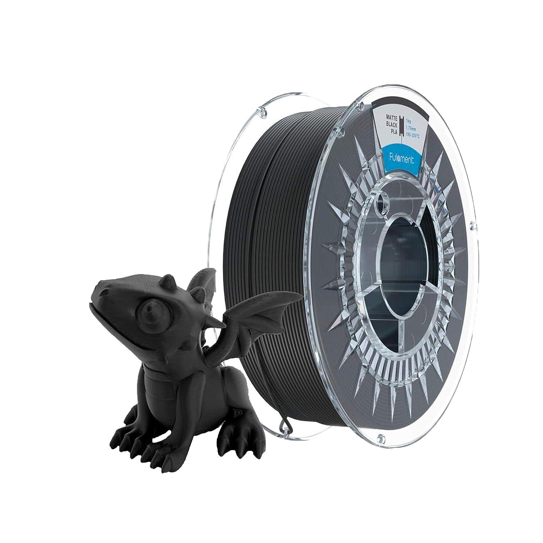 Fulament Matte Black PLA Filament Roll Choice 1kg Printer of 3D price Spool