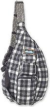 KAVU Plaid Rope Sling Bag Crossbody Backpack with Adjustable Shoulder Strap
