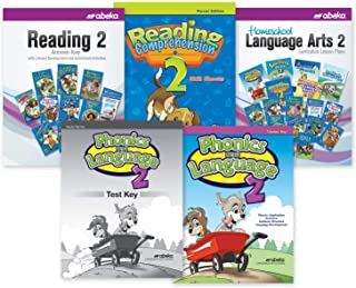 Grade 2 Language Arts Parent Kit - Abeka 2nd Grade 2 Student Answer Key, Test Key and Teaching Aid Charts Teacher Combo Pack