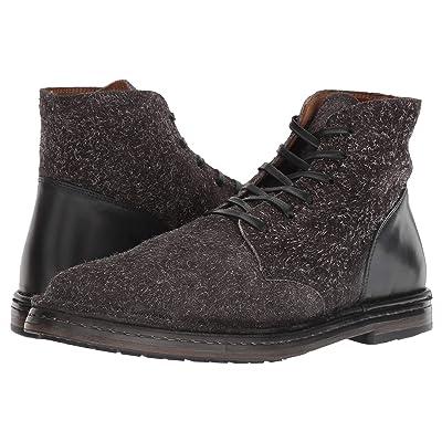 John Varvatos Collection Venice Lace Boot (Charcoal) Men