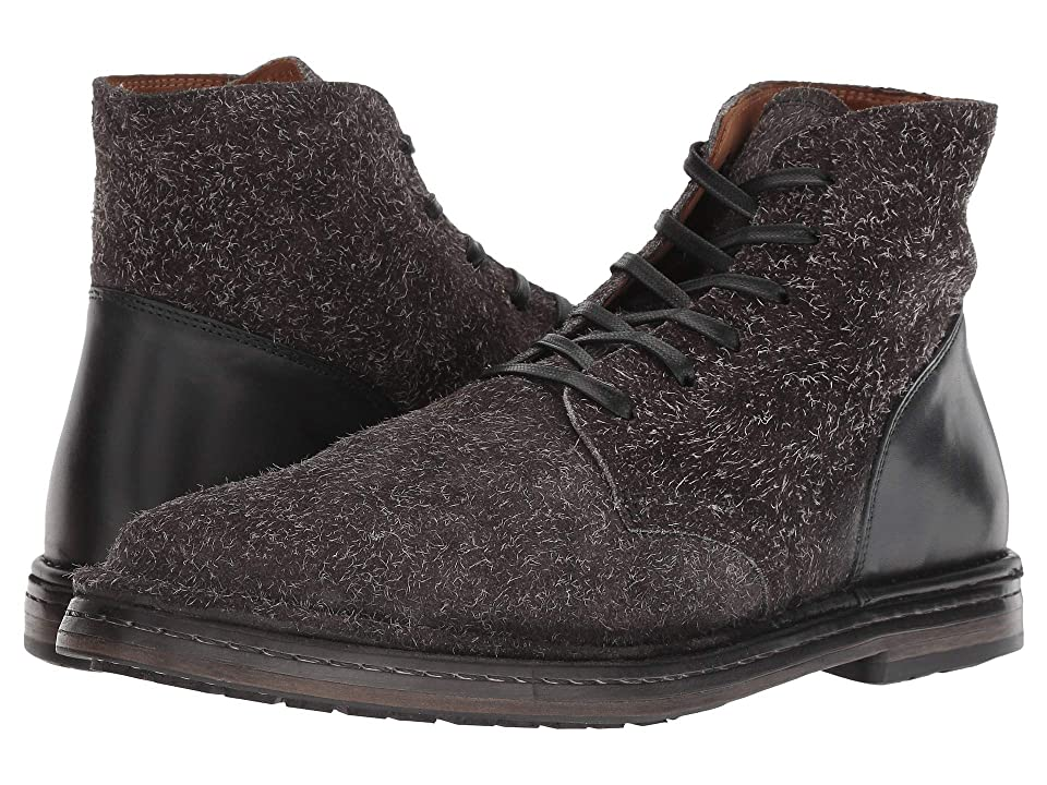 John Varvatos Collection Venice Lace Boot (Charcoal) Men