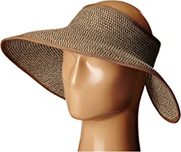 Packable Two-Tone Paper Braid Visor