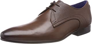 Ted Baker Men's Peair Leather Lace Up Formal Shoe Brown