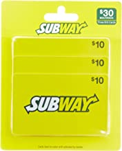 10 dollar subway gift card