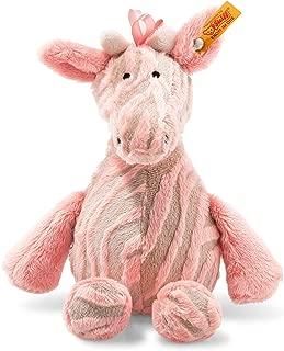 Steiff 240393Soft Cuddly Friends Giselle Giraffe Bell–Pink