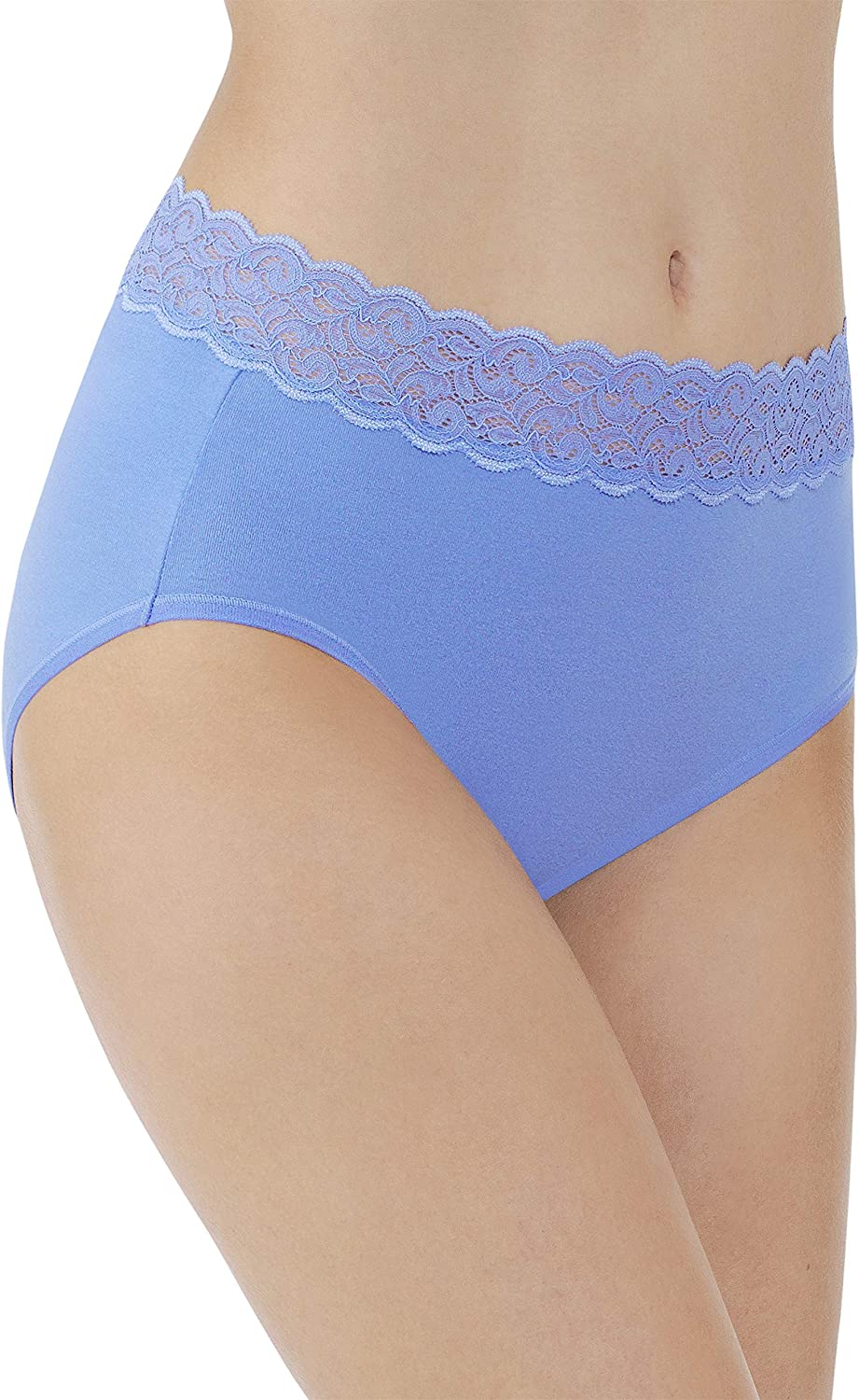 Vanity specialty shop Fair Women's Flattering Lace Max 75% OFF Stretch 1 Panty Brief Cotton