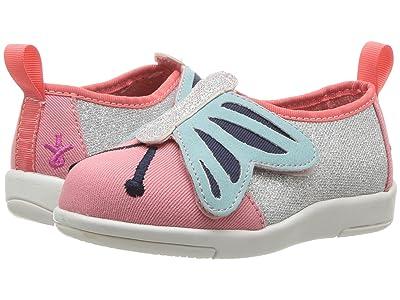 EMU Australia Kids Butterfly Sneaker (Toddler/Little Kid/Big Kid) (Pink Watermelon) Girl