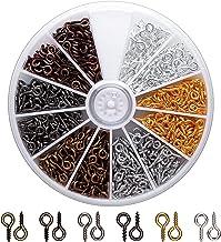 AIEX Oogschroef oogstiften voor het maken van sieraden ringschroeven voor doe-het-zelf handwerk oogschroeven voor het make...