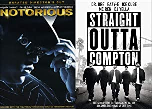 Music Generation Straight Outta Compton & Notorious Double DVD Feature Dr. Dre / Easy-E / Ice Cube / DJ Yeller / Mc Ren / B.I.G. Movie Pack