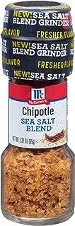 McCormick Chipotle Sea Salt Blend With Grinder Pack of 2 2.32 oz.