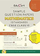 Educart CBSE Sample Question Papers Class 10 Mathematics (Standard) For 2020 Exam